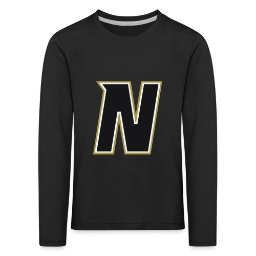Nordic Steel Black N - Kids' Premium Longsleeve Shirt