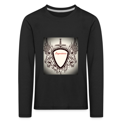 MR AIMs logga - Långärmad premium-T-shirt barn