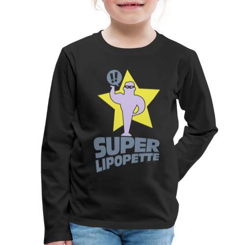 SUPER LIPOPETTE - T-shirt manches longues Premium Enfant