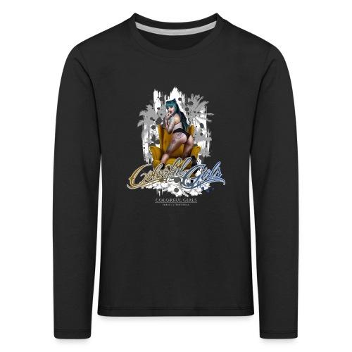 iinked Sabrina - Kinder Premium Langarmshirt