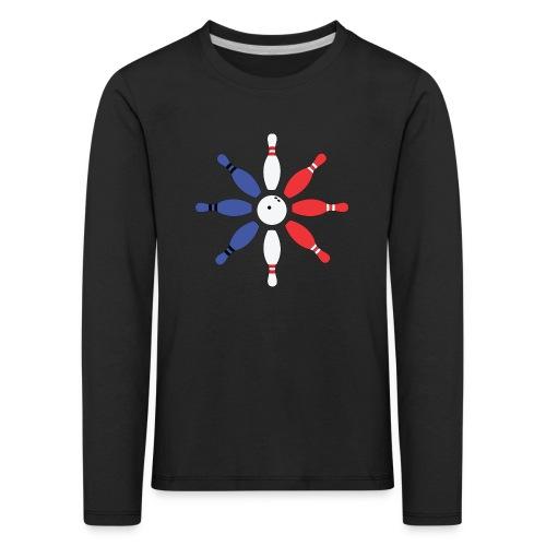 Roue de Quilles - T-shirt manches longues Premium Enfant