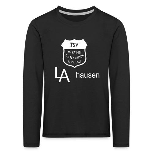 logotsvlahausen - Kinder Premium Langarmshirt