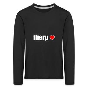 I love Flierp - Kinderen Premium shirt met lange mouwen