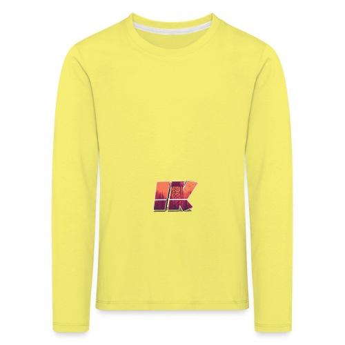 Ishaan Kulkarni Logo (1) - Kids' Premium Longsleeve Shirt