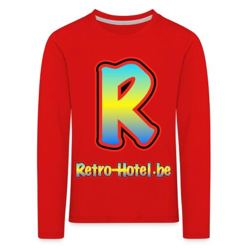 tshirtlogo png - Kinderen Premium shirt met lange mouwen
