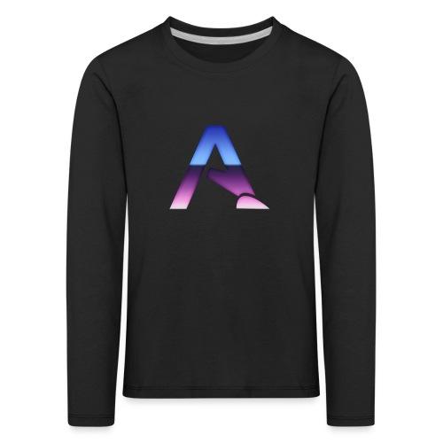 logga 3 - Långärmad premium-T-shirt barn