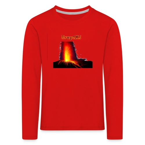 EruptXI Eruption! - Kids' Premium Longsleeve Shirt