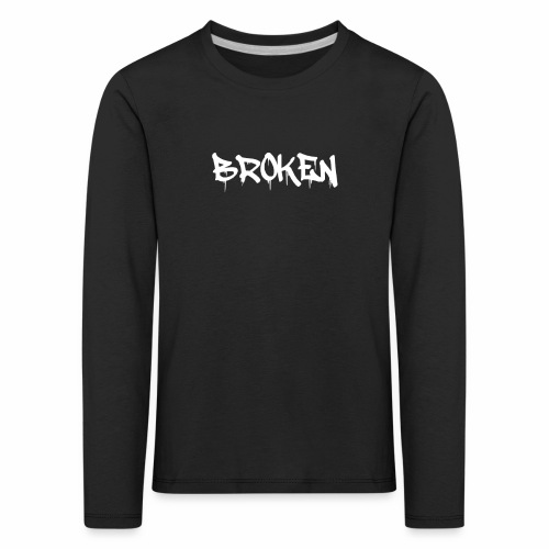 Broken Design - Kids' Premium Longsleeve Shirt