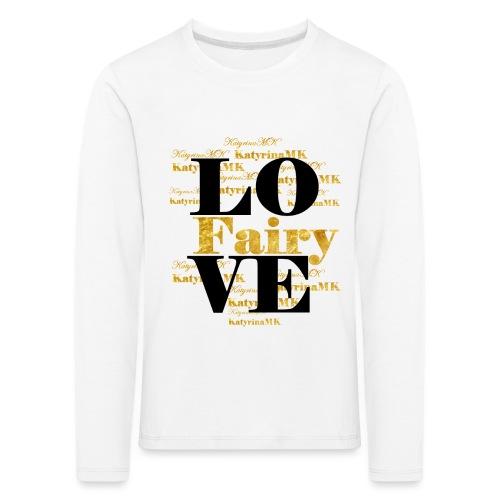 KatyrinaMK Love - Kinder Premium Langarmshirt