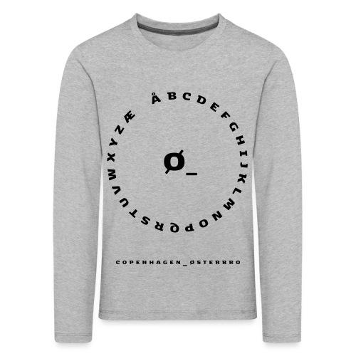 Østerbro - Børne premium T-shirt med lange ærmer