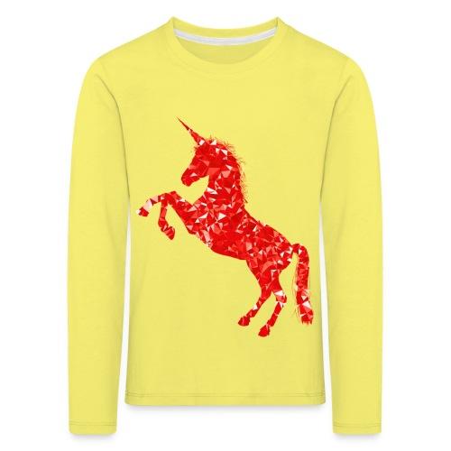 unicorn - Kinder Premium Langarmshirt