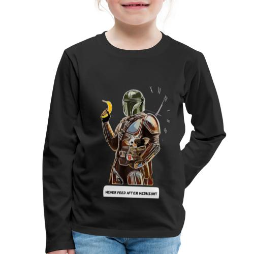 Never Feed After Midnight - Kids' Premium Longsleeve Shirt