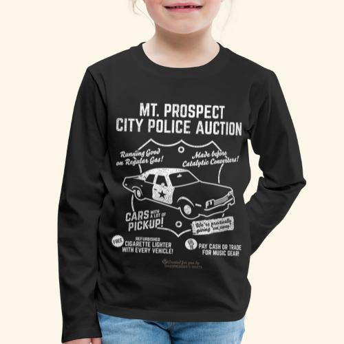 Mount Prospect Police Auction Geek T-Shirt - Kinder Premium Langarmshirt