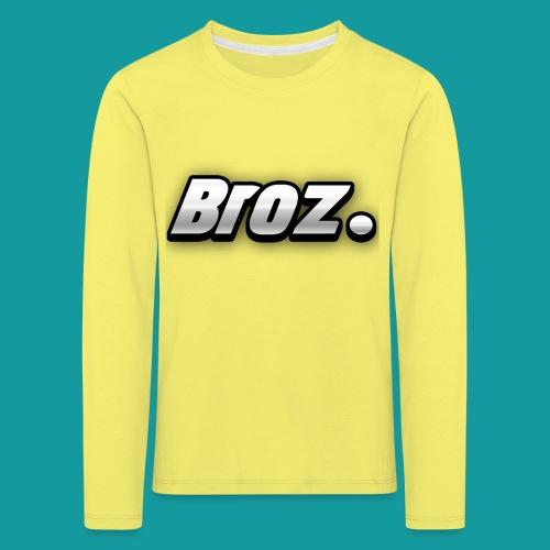 Broz. - Kinderen Premium shirt met lange mouwen