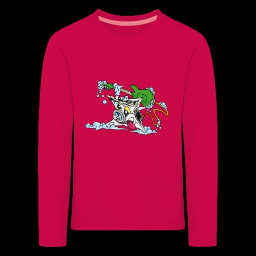 Wicked Washing Machine Wasmachine - Kinderen Premium shirt met lange mouwen