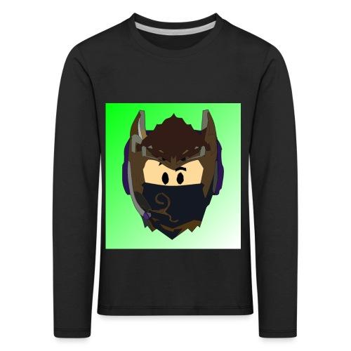AN1MAYTRZ logo - Kids' Premium Longsleeve Shirt