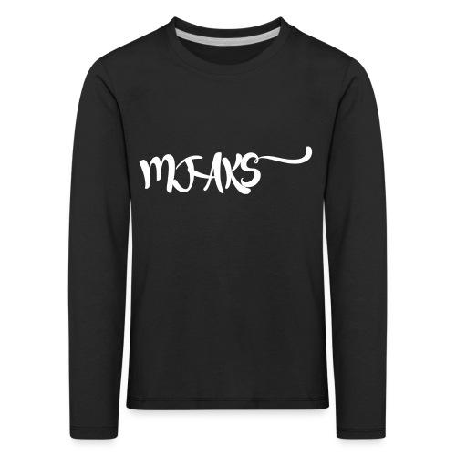Mjaks 2017 - Kinderen Premium shirt met lange mouwen