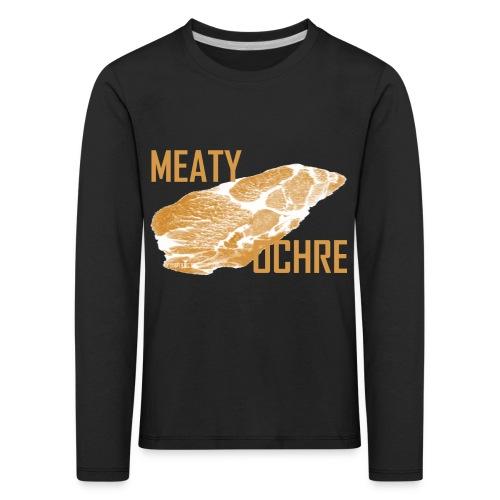 MEATY OCHRE - Kinder Premium Langarmshirt