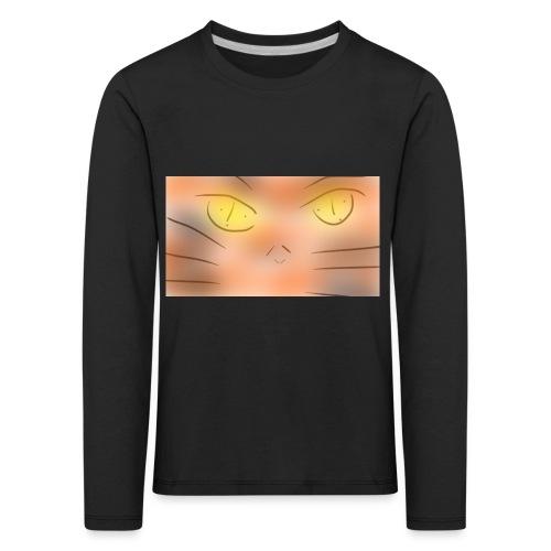 Cat un the un un night gato o animé - Camiseta de manga larga premium niño