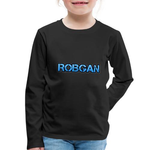 RobGan - Camiseta de manga larga premium niño