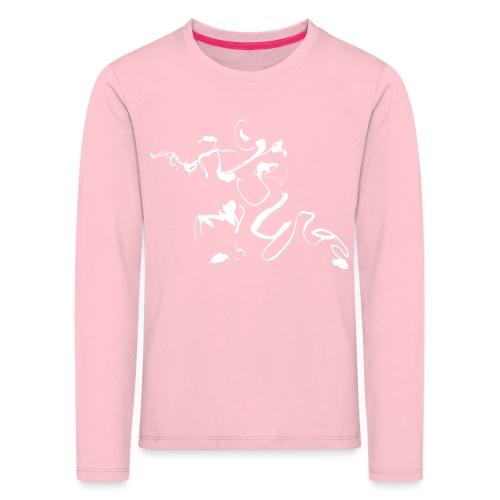 Kungfu - Deepstance Kung-fu figure - Kids' Premium Longsleeve Shirt