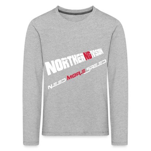 nd badg 2vari perspective - Lasten premium pitkähihainen t-paita