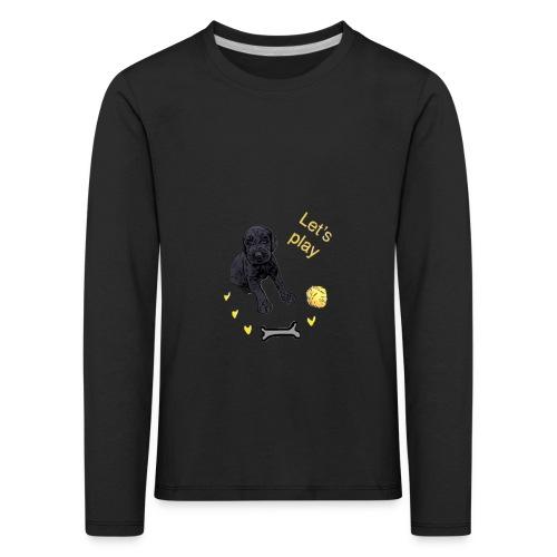 Giant Schnauzer puppy - Kids' Premium Longsleeve Shirt