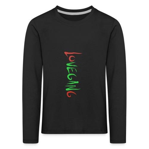 Lovegang - Lasten premium pitkähihainen t-paita