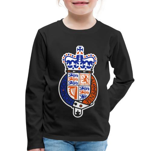 British Seal Pixellamb - Kinder Premium Langarmshirt