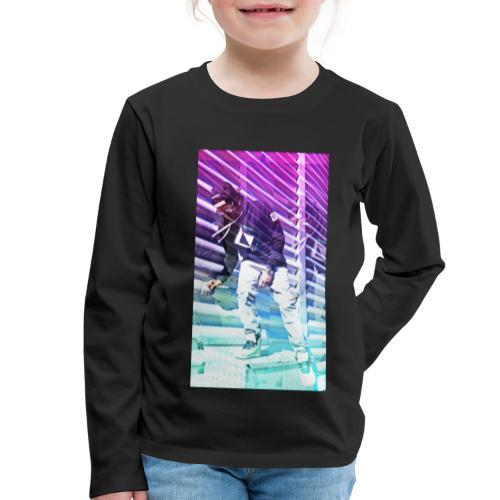 Neon HDR - Kids' Premium Longsleeve Shirt