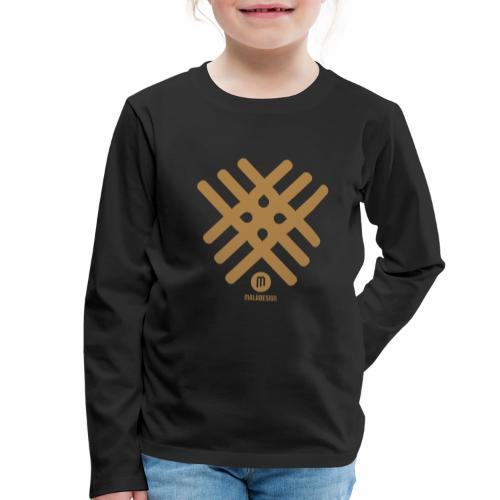 Maladesign - Lasten premium pitkähihainen t-paita