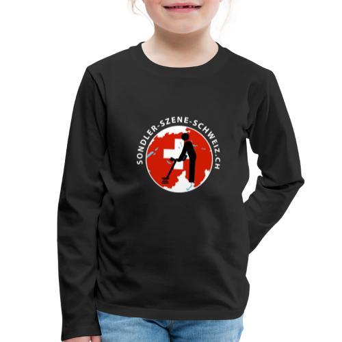 Sondler Szene Schweiz Rund - Kinder Premium Langarmshirt