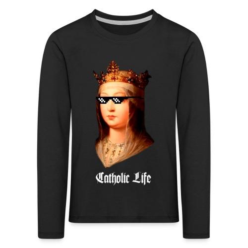 Isabel La Católica (Catholic Life) - Camiseta de manga larga premium niño