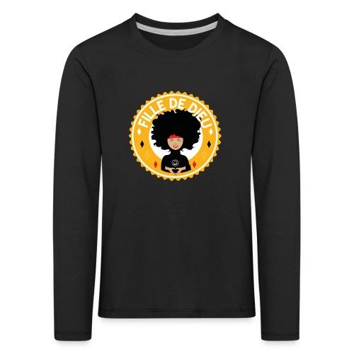 fillededieujaune - T-shirt manches longues Premium Enfant
