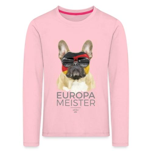 Europameister Deutschland - Kinder Premium Langarmshirt
