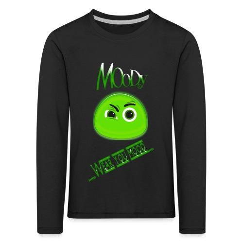 MOODY GOSTH - Maglietta Premium a manica lunga per bambini