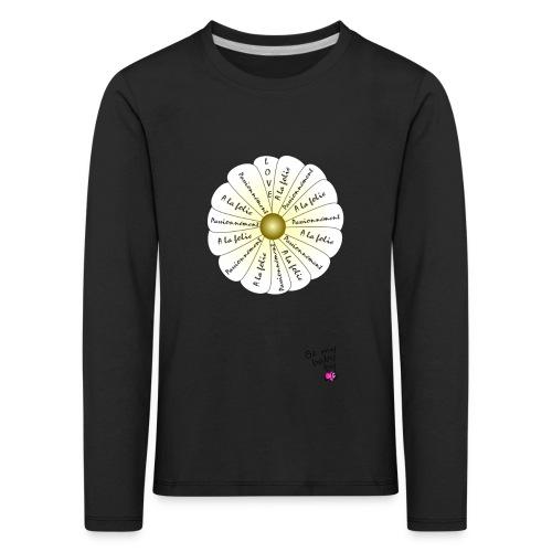 marguerite png - T-shirt manches longues Premium Enfant