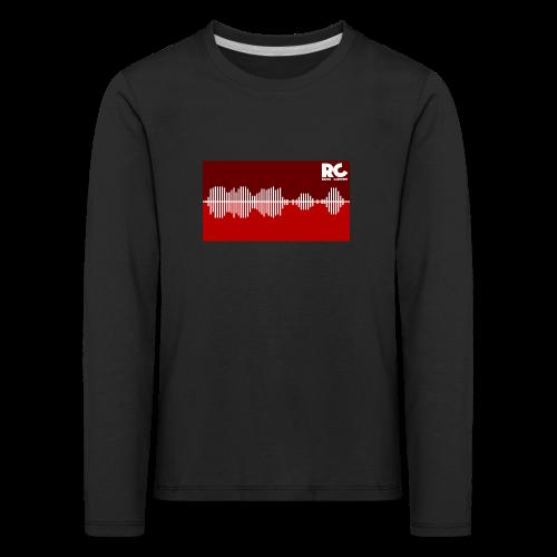 Amplitude Edition - Kinder Premium Langarmshirt