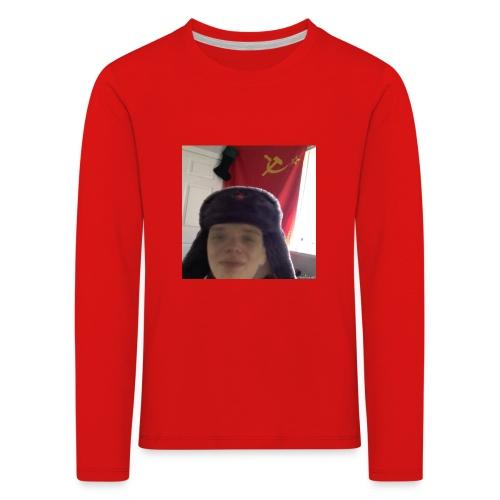 Kommunisti Saska - Lasten premium pitkähihainen t-paita