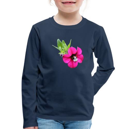 Miljoonakello ja kimalainen - Lasten premium pitkähihainen t-paita