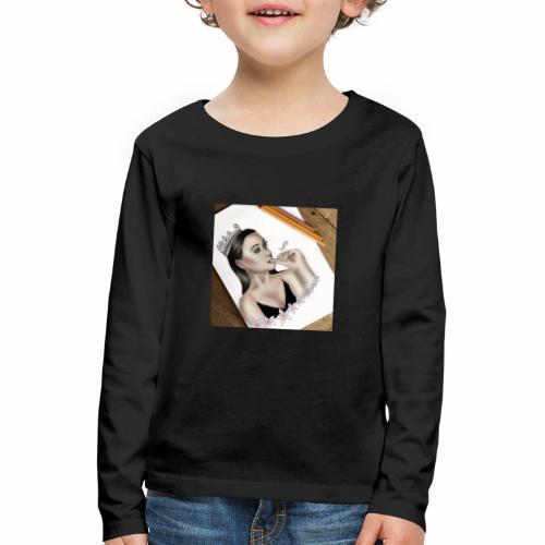 The Queen - Kinderen Premium shirt met lange mouwen