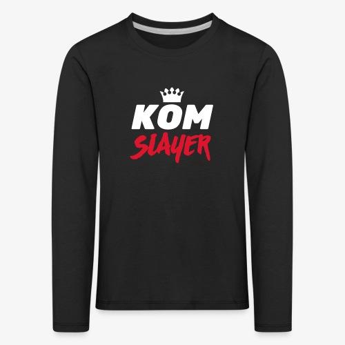 king of the mountain slayer - mtb - Kids' Premium Longsleeve Shirt