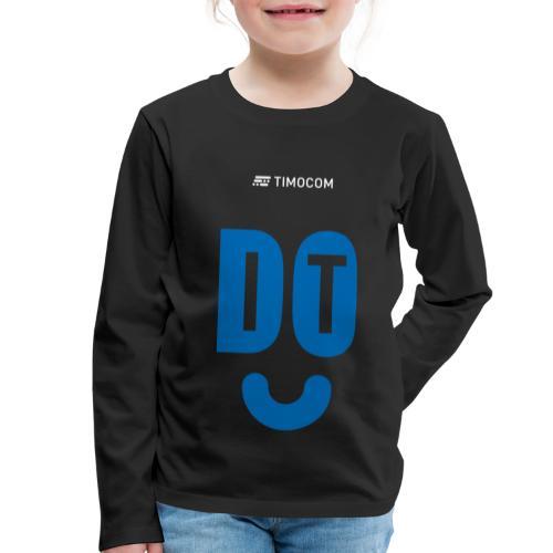 do IT - Børne premium T-shirt med lange ærmer