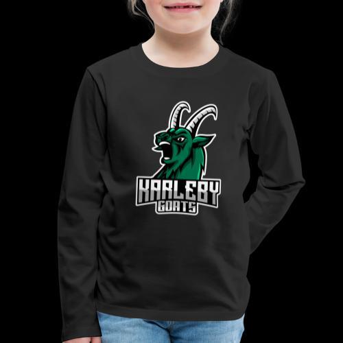 ORIGINAL GOAT - Lasten premium pitkähihainen t-paita