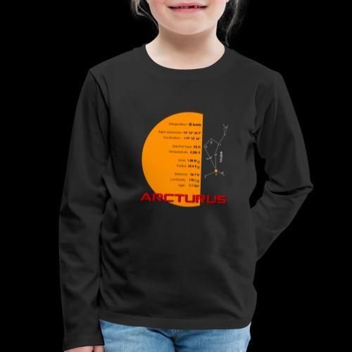 Arcturus / Arktur - Kinder Premium Langarmshirt