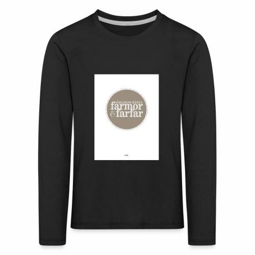 7597DD73 DF61 436F 9725 D1F86B5C2813 - Långärmad premium-T-shirt barn