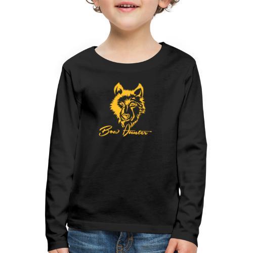 Wolf - Kinder Premium Langarmshirt