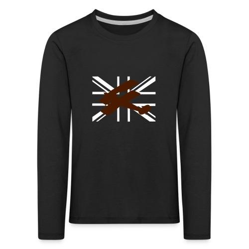 ukflagsmlWhite - Kids' Premium Longsleeve Shirt