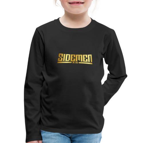 00404 Vikkstar123 dorado - Camiseta de manga larga premium niño