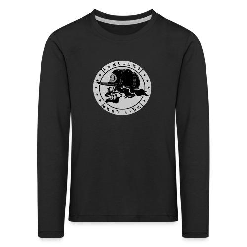 skull 13 milles noir et gris super design - T-shirt manches longues Premium Enfant